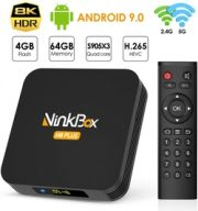 NinkBox Android TV Box Android 9.0